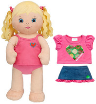 New Build a Bear Blonde Doll Friends 2B Made 17 in. Plush with Girl Scou... - $118.99