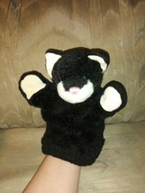 """The Boyd's Collection Black Cat Plush Hand Puppet 10"""" #1364 Kitty Kitten... - $19.79"""