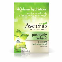 Aveeno Positively Radiant Overnight Hydrating Facial Moisturizer - 1.7 oz.  - $8.95