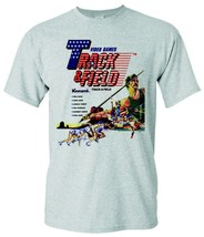 Track & Field T-shirt retro 1980's video arcade game distressed heather grey tee image 1