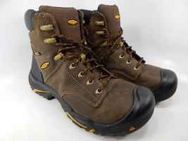 "Keen Mt. Vernon 6"" Size 9.5 2E WIDE EU 42.5 Men's Soft Toe Work Boots 1014600EE"