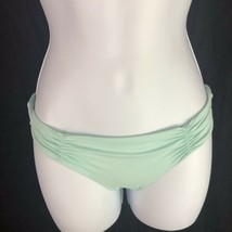 L Space Monique Ruched Side Back Bikini Bottoms Hipster Womens XS Extra ... - $19.80