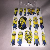 Beautiful MINIONS GANG Metal larger light switch plate cover screws incl... - $9.49