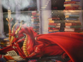 Haunted Male Red Dragon Power Money Luck And Great Protection - $175.00