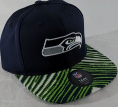 LZ NFL Team Apparel Youth One Size Seattle Seahawks Baseball Hat Cap NEW... - $13.99
