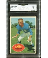 1960 YALE LARY Topps Football Card #48 - DETROIT LIONS (GMA Graded NM 7) - $14.84