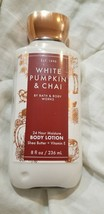 bath and body works White Pumpkin & Chai Body Lotion 8 Oz New! - $18.00