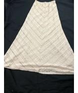 Maria Gabrielle Women's Cream Maxi Skirt XS - $19.79