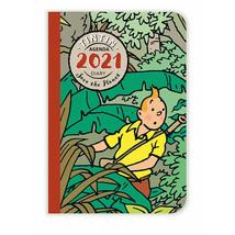 Tintin pocket size diary agenda 2021 Save the planet  image 1