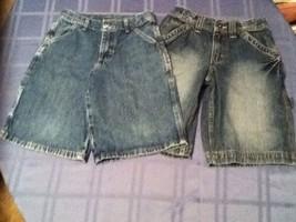 Boys-Lot of 2-Size 10 Reg.- Wrangler shorts&Urban Pipeline blue carpenter denim  - $10.45