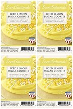 ScentSationals Iced Lemon Sugar Cookies Scented Wax Cubes - 4-Pack - $16.81