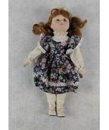 Blue Eyes Floral Dress 15 1/2 Tall Doll - $19.79