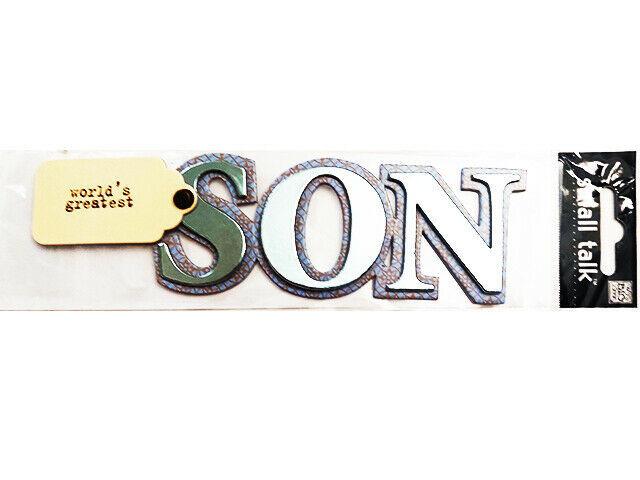 MAMBI Small Talk World's Greatest Son Sticker #6077