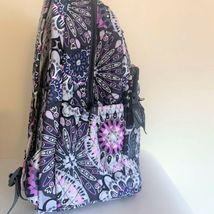 Vera Bradley Essential Large Backpack Laptop Bag ~ Mimosa Medallion Pattern NWT image 10