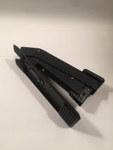 Vintage 60s Bostitch Model #B53 hammered black desk stapler image 2
