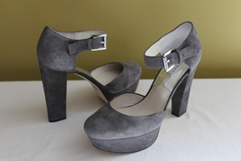 NEW! Michael Kors Haven Suede Leather Mary Jane... - $118.00