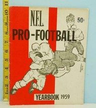 1959 NFL Pro-Football Yearbook Jay Publishing - $25.69