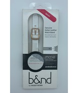 b&nd- Hadley Roma - Mode - 16mm Genuine Italian Leather Band Moto 360 Wo... - $16.99