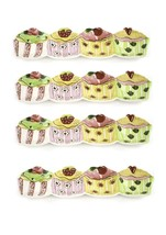 Ceramic Cupcake Holder Server Dish Set - Appetizers, Desserts Display Se... - $19.34