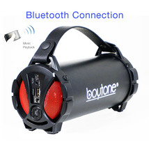 Boytone BT-38RD Portable Bluetooth Indoor/Outdoor Speaker 2.1 Hi-Fi Cyli... - $48.37 CAD