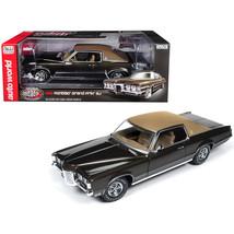 1969 Pontiac Grand Prix SJ Expresso Brown Metallic with Dark Brown Top M... - $108.89