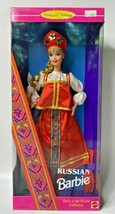 """1996 """"Russian Barbie"""" Dolls Of The World Collection NIB#3 - $54.99"""