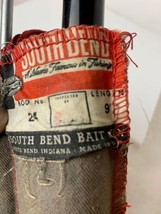 Vintage Bamboo 9' Fly Fishing Rod South Bend No 24 With Sleeve Very Nice - $188.09