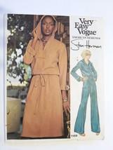 Vogue 1169, Misses Top, Skirt & Pants, Size 10, cut - $6.95