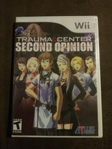 Trauma Center: Second Opinion (Nintendo Wii, 2006) Rated T Medical Drama... - $22.74
