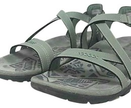 MERRELL BLUE DOVE (GREEN) SUEDE LEATHER SANDALS LADIES Size 9 NWT retail... - $45.00