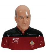 Star Trek: The Next Generation Captain Picard Bust Ceramic Cookie Jar NE... - $96.74