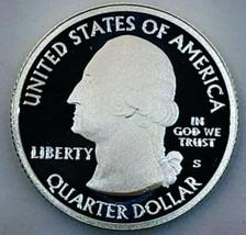 2017 S CAMEO SILVER WASHINGTON QUARTER FREDRICK DOUGLAS VERY PQ. 595 - $24.50
