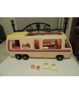 Vintage Barbie Western Star Traveler Motorhome RV Bus Camper w Accessori... - $52.58