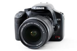 Canon Kiss X2 EF-s 18-55 mm F3.5-5.6 IS 80size 286563 japan F/S used vin... - $404.38