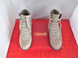 Carlos by Carlos Santana Donna Lace-Up Booties $89 Light Doe - US Size 8 1/2 M - $44.99