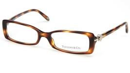 New Tiffany & Co. Tf 2035 8107 Havana Eyeglasses Frame 50-16-135 B26 Italy - $123.74