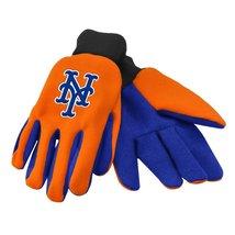 MLB fan sport utility work gloves (New York Mets Orange/Blue) - $8.95