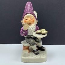 Goebel Gnome figurine Greg Gourmet shucking oysters statue sculpture hum... - $84.15