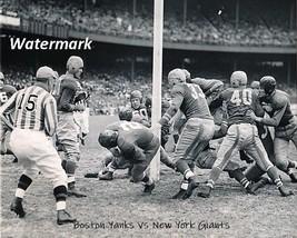NFL 1944 Boston Yanks vs New York Giants Game Action 8 X 10 Photo Pic Free Ship - $9.99