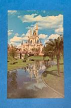 70's Walt Disney World Cinderella Castle Post Card - $2.97