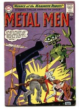 Metal Men #5 Dc Comic Book SILVER-AGE-THE Gas Gang Vg - $37.83