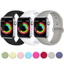 Fuleda Compatible with iWatch Band 44mm 42mm, Replacement Accessory Band... - $15.03