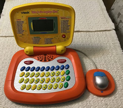 VTech Tote & Go Laptop PLUS, Orange/Yellow - 30 Engaging Learning Activi... - $23.76