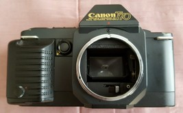 35mm SLR Film Camera, Canon T-70 - Body Only - $11.88