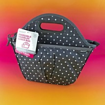 New PackIt Freezable Traveler Lunch Bag PKT-TV-POL - Polka Dots #ploka5 - $20.89 CAD