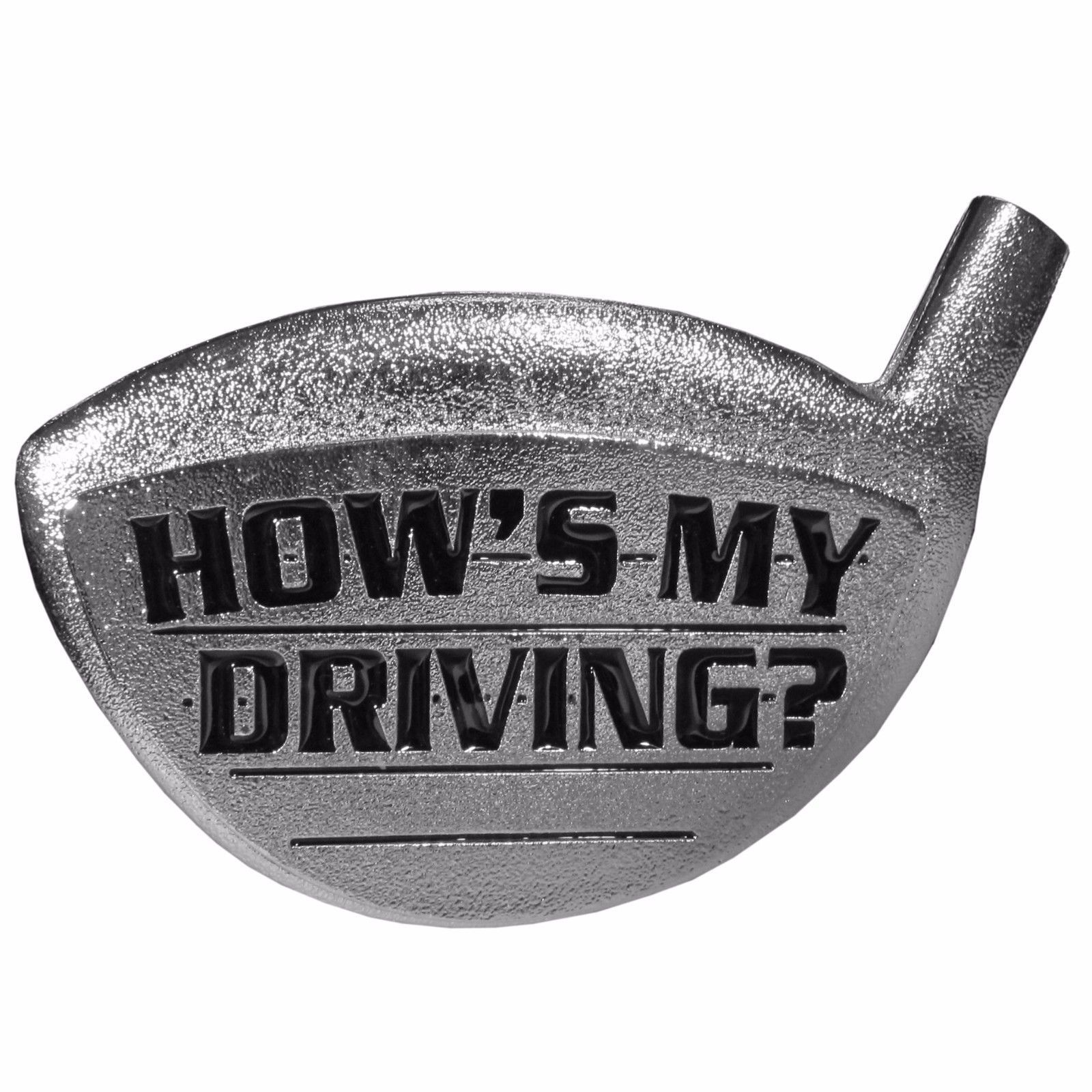 Primary image for golfing hitch hows my driving metal trailer hitch cover