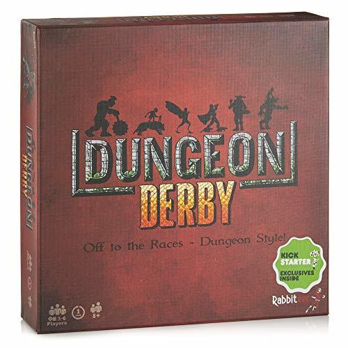 Primary image for Deluxe Dungeon Derby - Family Friendly Strategy Board Game - Deluxe Edition Incl