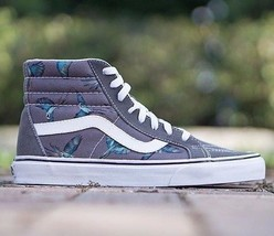 VANS SK8 Hi Reissue (Dirty Bird) Pewter/True White Men's Skate Shoes SIZ... - $64.95
