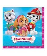 Unique Industries Skye Girl PAW Patrol Party Napkins, 16ct - $4.90