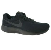 Nike Tanjun (GS) Triple Black Grade School Youth Running Shoes 818381 001 - $44.95